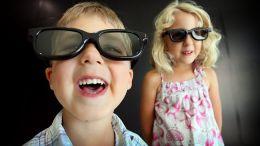 Mimo braku badań na temat wpływu aparatów 3D na wzrok dzieci, rynek już oferuje okulary 3D w wersji dziecięcej