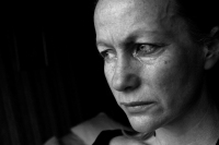 image of a sad woman, conceptual domestic violence, mental health, depression